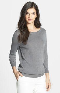 metallic sweater / chelsea28