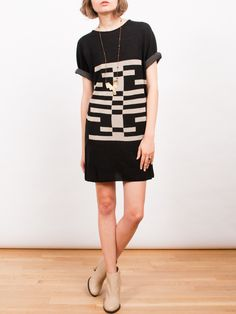 Frances May - Pendleton Warm Springs Knit Dress