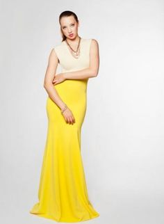 Two Tone V-Neck Maxi Dress,  Dress, Dress, Chic