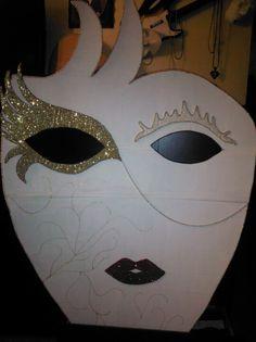 Masquerade Ball Decor