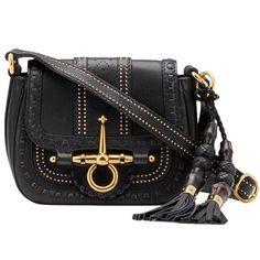 Gucci 263956 ANG0G 1000 Snaffle Bit Small Shoulder Bag Black [dl16557] - $260.89 : Gucci Outlet, Cheap Gucci online,Gucci UK