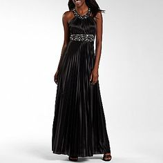 My Michelle Beaded Highneck Pleat Dress - jcpenney