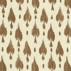 Darta | Peter Fasano, LTD #textiles #fabric #linen #brown
