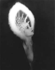Halo carole lombard, carol lombard, headpiec, crown, vintag headdress, inspir, hollywood, beauti, hat