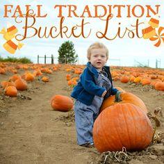 tradit bucket, halloween tradition, bucket lists