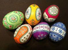 Sorbische Ostereier / Sorbian easter eggs