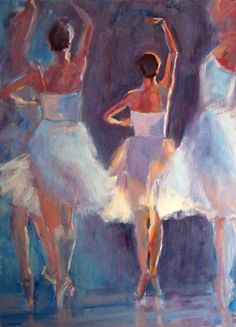 The Carolina Ballet On Canvas - In Unison by Nicole White Kennedy - http://www.nicolestudio.com/images/NicoleArt/Figurative_still_life.html