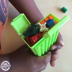 How to make a pocket lego case so your kids can stay busy building on the go!