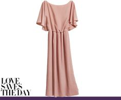 Just bought this today and love, love, love.  H&M pink pleated dress $35