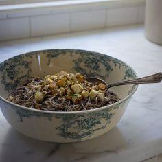 Ginger Soba Noodles Recipe