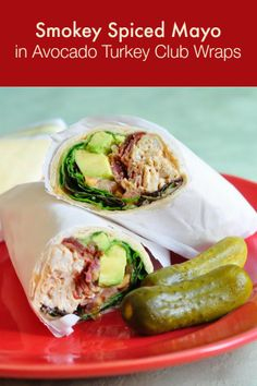 Club Wraps - a terrifically tasty idea for leftover roasted or grilled ...
