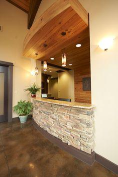 Reception Desk - Chase Lake Family Dentistry