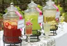 Good outdoor bridal shower idea or out door wedding