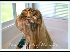 Fast French Braided Hairstyle Tutorial