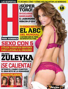 Zuleyka Rivera Revista H Junio 2014 [PDF Digital] | FamosasMex