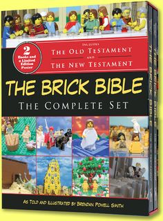 The Brick Bible Shop > The Brick Bible: The Complete Set. Illustrated with Lego blocks.