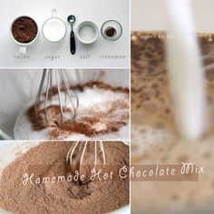 Homemade Hot Chocolate Mix Recipe - Hot Cocoa Mix - Eugenie Kitchen