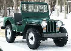 1947 Willy's Jeep. I