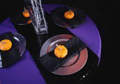 Spooky Halloween Tablescape | LinenTablecloth
