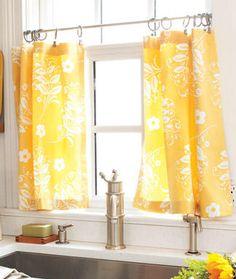 kitchen window - I like the yellow