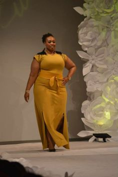 Curvezz at Full Figure Fashion Week...