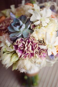 pastel, colors, couture, leav, ana rosa, beauty, flowers, succulent bouquets, vintage style