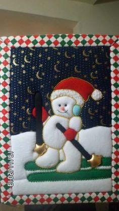 Cuadros Navidad Patchwork