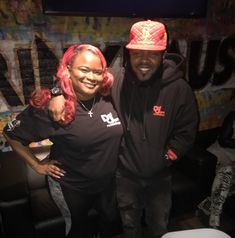 Dough From Da Go and Peaches AKA Petty Peaches @ the #DefJam #Undisputed Docuseries Viewing & Listening Session Held @ Drink Haus Chicago