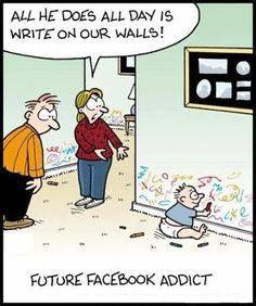 Photo: Social media humour: here is the new generation ;-)  Humour réseaux sociaux: voici la nouvelle génération ;-)  #socialmediahumor #humourréseauxsociaux