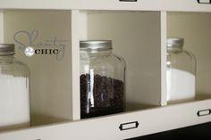 DIY Kitchen Storage.  new cabinet
