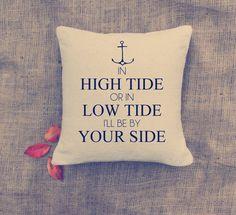 Anchor Pillow