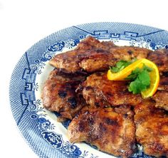 Grilled Chicken with Tamarind and Coconut Glaze