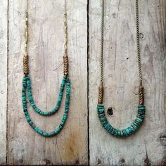 old turquoise / new designs