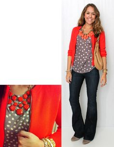 Love this, Red/Work outfit