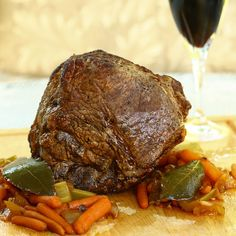 Guinness and Red Wine Roast in the Slow Cooker