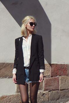 Shorts  blazer.