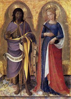 Perugia Altarpiece. Fra Angelico.
