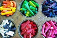 Crayon Cakes
