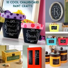 10 cool chalkboard paint crafts you should try!
