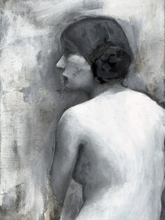 female nude portrait fine art signed print by TheHauntedHollowTree. $20.00, via Etsy.