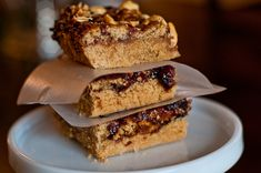 Peanut Butter and Jelly Bars   Add a Pinch   Robyn Stone
