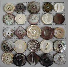 mop button, shell button, shellpearl button