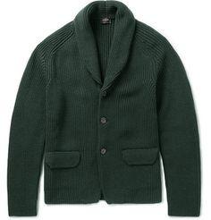 Jil Sander Chunky-Knit Wool Cardigan