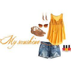 Sunshie, created by kayleekkbray