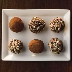 Ghirardelli Peppermint & Dark Chocolate Truffles | http://www.ghirardelli.com/recipes-tips/recipes/peppermint-and-dark-chocolate-truffles?utm_source=Pinterest&utm_medium=Social&utm_campaign=peppermintbark