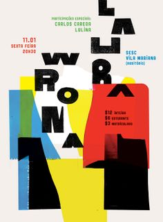 RODRIGO SOMMER - COLORFUL COLAGES WITH TYPE