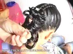 Trenzas Para Niñas de trenzasypeinados.com. Elegant hairstyle.
