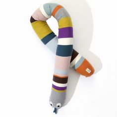 Mr. Snake Cotton Pillow Toy