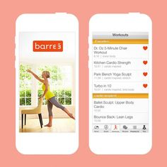 Get your barre workout in with the help of this app.
