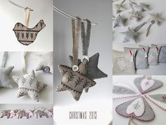 Nordic ornaments by Linen  Lisle
